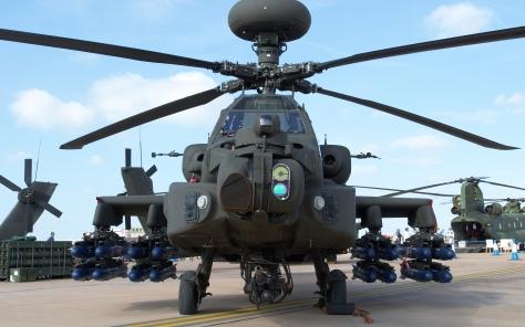 Apache on ground